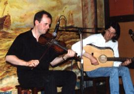 Duncan Chisholm & Ivan Drever, photo by The Mollis