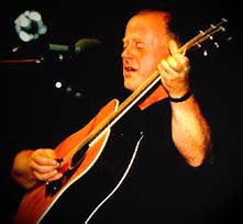 Christy Moore; photo by The Mollis
