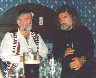 Danny Kyle and Billy Connolly; photo by The Mollis